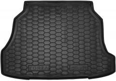 Коврик в багажник для ЗАЗ (Zaz) Forza / Chery A13 '11- хетчбэк, резиновый (AVTO-Gumm)