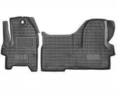 Коврики в салон для Iveco Daily '16- резиновые, черные (AVTO-Gumm)
