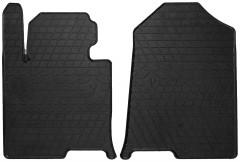 Коврики в салон передние для Hyundai Sonata '16- резиновые (Stingray)