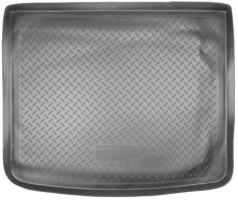 Коврик в багажник для Peugeot 206 '06-09 седан, полиуретановый (NorPlast) черный