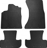Коврики в салон для Audi Q5 '08-17 резиновые (Stingray)
