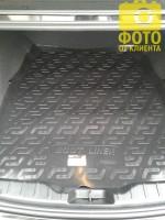 L.Locker Коврик в багажник для BMW 5 F10 '13-16, седан, резино/пластиковый (Lada Locker)
