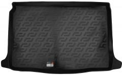 Коврик в багажник для Renault Megane '16-, хетчбэк, резино/пластиковый (Lada Locker)