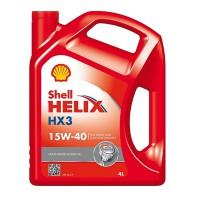 Shell Shell Helix HX3 15W-40, 4 л