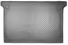Коврик в багажник для Peugeot Partner '08- пассажирский, полиуретановый (NorPlast) черный