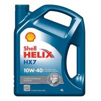 Shell Shell Helix HX7 10W-40, 4 л