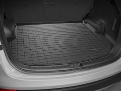 Коврик в багажник для Hyundai Santa Fe '13-17 DM (5 мест), резиновый (WeatherTech) черный