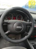 Фото 5 - Чехол на руль черный с декоративными вставками, кожа B402 M