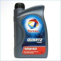 Моторное масло TOTAL Quartz 7000 10W-40 (1л)