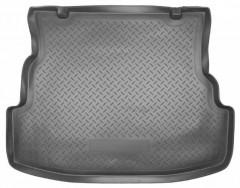 Коврик в багажник для Renault Symbol '08-12 седан, полиуретановый (NorPlast) черный