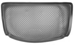 Коврик в багажник для Ssangyong Actyon '06-12, полиуретановый (NorPlast) черный