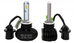 Автомобильные светодиодные лампочки ALed серия S H27 6000K 4000Lm (2шт)