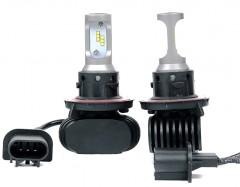Автомобильные светодиодные лампочки ALed серия S H13 6000K 4000Lm (2шт)