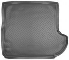 Коврик в багажник для Citroen C-Crosser '07-12 (с сабвуфером), полиуретановый (NorPlast) черный