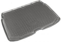 Коврик в багажник для Citroen C3 '10- Picasso, нижний, полиуретановый (NorPlast) черный