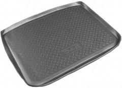 Коврик в багажник для Citroen C4 '05-09, полиуретановый (NorPlast) черный