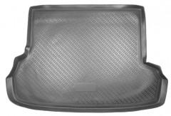 Коврик в багажник для Subaru Impreza '07-12 седан, полиуретановый (NorPlast) черный