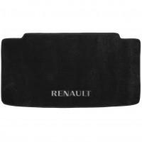 Textile-Pro Коврик в багажник для Renault Modus '04-12, текстильный черный