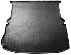 Коврик в багажник для Ford Explorer '11-, полиуретановый (NorPlast) черный