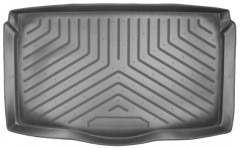 Коврик в багажник для Suzuki Ignis '03-07, полиуретановый (NorPlast) черный