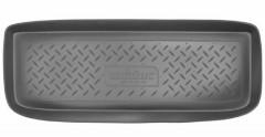 Коврик в багажник для Suzuki Jimny '98-, полиуретановый (NorPlast) черный