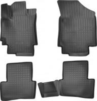 Коврики в салон для Hyundai Creta '16-, полиуретановые, черные (Nor-Plast) 3D