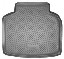 Коврик в багажник для Toyota Avensis '03-08 седан, полиуретановый (NorPlast)