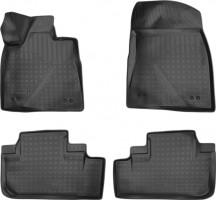 Коврики в салон для Lexus RX '16-, полиуретановые, черные (Nor-Plast) 3D