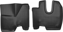 Коврики в салон для Mercedes Axor '06-, полиуретановые, черные (Nor-Plast) 3D