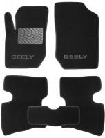 Коврики в салон для Geely LC Cross /GX2 '10- текстильные, черные (Люкс)