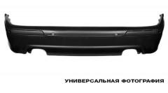 Молдинг заднего бампера для Skoda Octavia A5 '05-13 (кроме RS) (FPS)