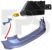 Крепеж заднего бампера для Ford Focus '11-14, хэтчбек, правый внутр. (FPS)