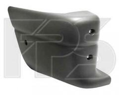 Угольник бампера для Renault Master '03-09, задний правый (FPS)