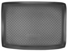 Коврик в багажник для Volkswagen Golf Plus VI '05-09, полиуретановый (NorPlast) черный