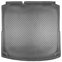 Коврик в багажник для Volkswagen Jetta VI '10-, коврик прямоугольный, полиуретановый (NorPlast) черный