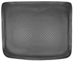 Коврик в багажник для Volkswagen Touareg '02-09, полиуретановый (NorPlast) черный