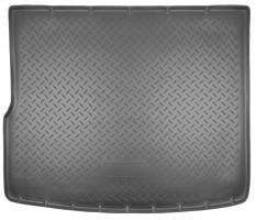 Коврик в багажник для Volkswagen Touareg '10-18 (4-х зонный климат), полиуретановый (NorPlast) черный