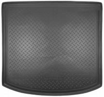Коврик в багажник для Volkswagen Touran '03-15, полиуретановый (NorPlast) черный