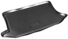 Коврик в багажник для Ford Fiesta '02-09, полиуретановый (NorPlast) черный