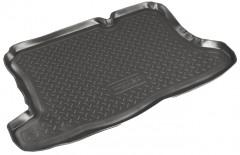 Коврик в багажник для Ford Fusion '02-12, полиуретановый (NorPlast) черный