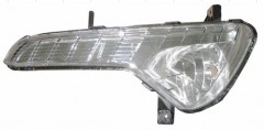 Противотуманная фара для Kia Sportage '10-15, правая (без лампы) (FPS)