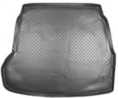 Коврик в багажник для Hyundai Sonata '05-10, полиуретановый (NorPlast) черный