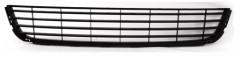 Решетка бампера для Volkswagen Golf VI '09-12, средняя, с черн. молдингом (FPS)