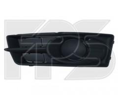 Решетка бампера для Mitsubishi Colt '09-10 (Z30), правая, без отв. ПТФ (FPS)