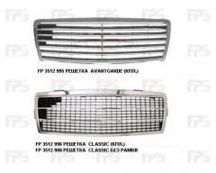 Решетка радиатора для Mercedes C-Class W202 '93-01, Classic, без хром. рамки (FPS)