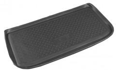 Коврик в багажник для Chery Kimo '07-, полиуретановый (NorPlast) черный