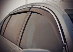 Дефлекторы окон для Lexus GS '05-12, с хром. молдингом (AVTM)