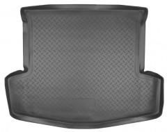 Коврик в багажник для Chevrolet Captiva '06-, длинный, полиуретановый (NorPlast) черный