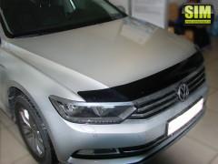 Дефлектор капота для Volkswagen Passat B8 '15- (Sim)
