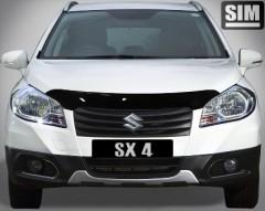 Дефлектор капота для Suzuki SX4 '13-16 (Sim)